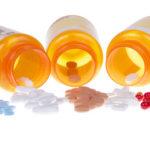 bottles of different pills