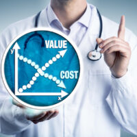 Young Clinician Advising On Cost Versus Value